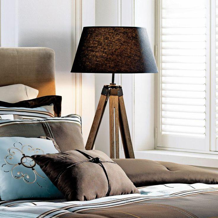 gen lite reclaimed wood tripod floor lamp – gurus floor