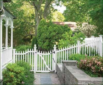 Sudbury Fence And Gate   Victorian Elegance. The Airy, Open Picket Sudbury  Has