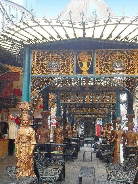 Photo : Stables Market (17),  Villes, Insolite, Façades, Sculptures, Royaume-Uni, Londres, tourisme. Toutes les photos de Jean-pierre MARRO sur L'Internaute