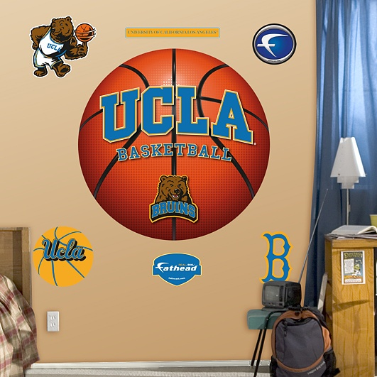 1000 images about college basketball football l wall Bruins room decor