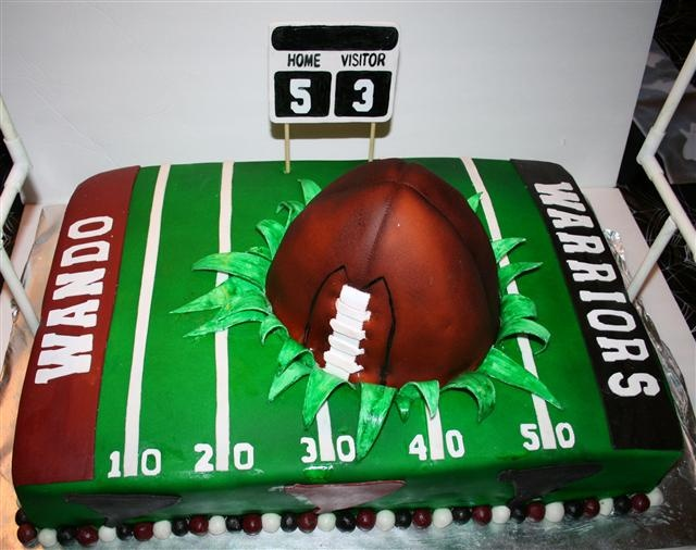 Cake Decorated Like Football Field : football field cake Cake & Cupcake Ideas Pinterest