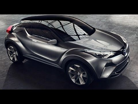 New Toyota C-HR-up-to-date | Release 2017/2018 - YouTube