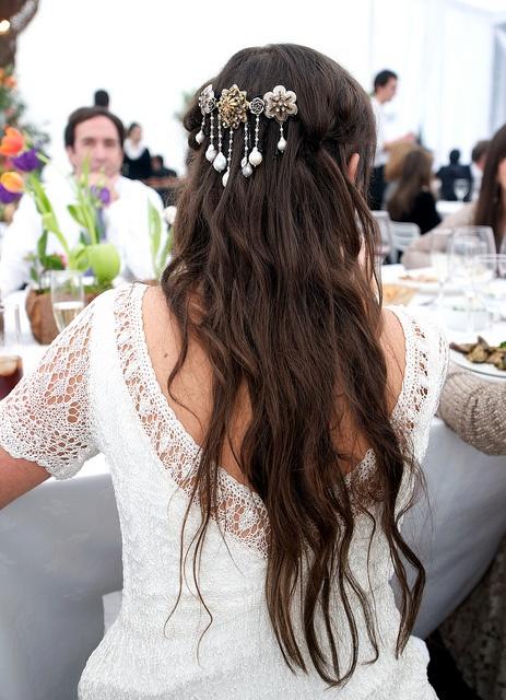 HAIR STYLE matrimonio 26.05.2012 by Angeles Irarrazaval, via Flickr