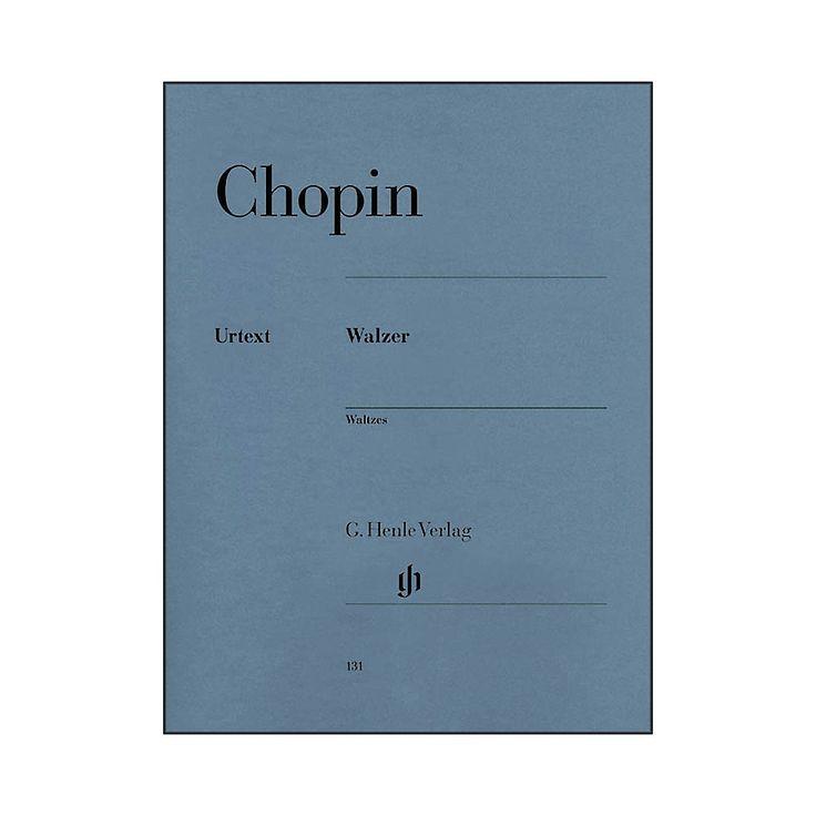 G. Henle Verlag Waltzes By Chopin