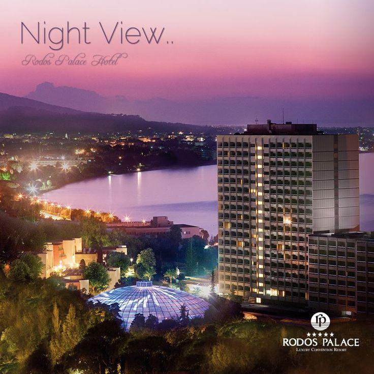 Isn't it breath-taking? #rodospalace #night #view #hotel #impressive