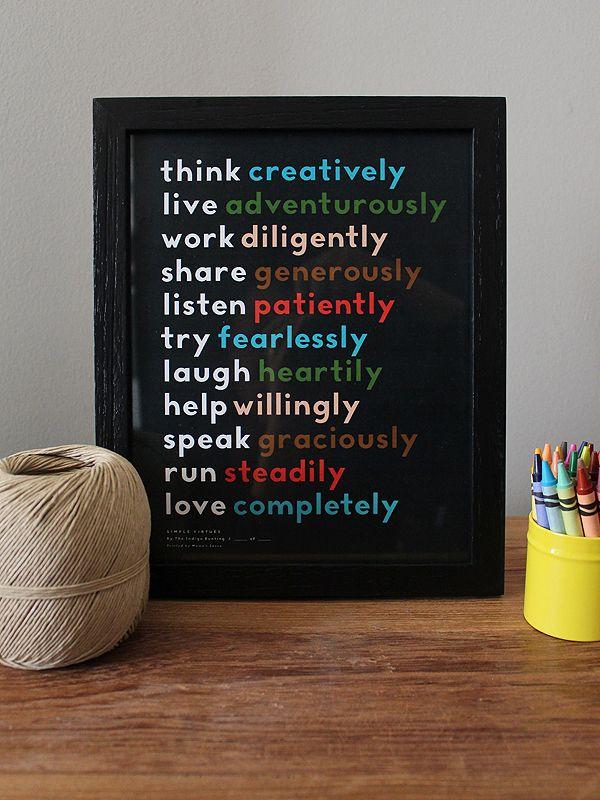 simple virtues