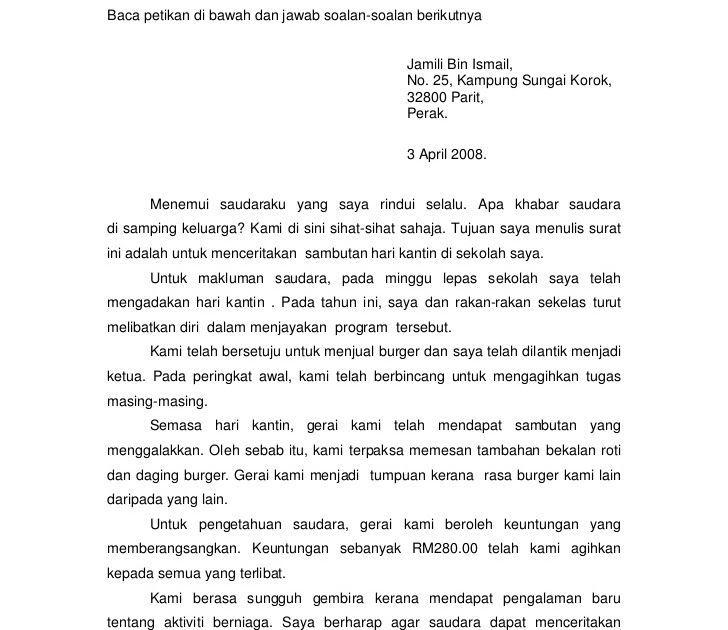 Contoh Surat Kiriman Rasmi Memohon Jawatan Kosong Di 2020 Membaca Buku Surat
