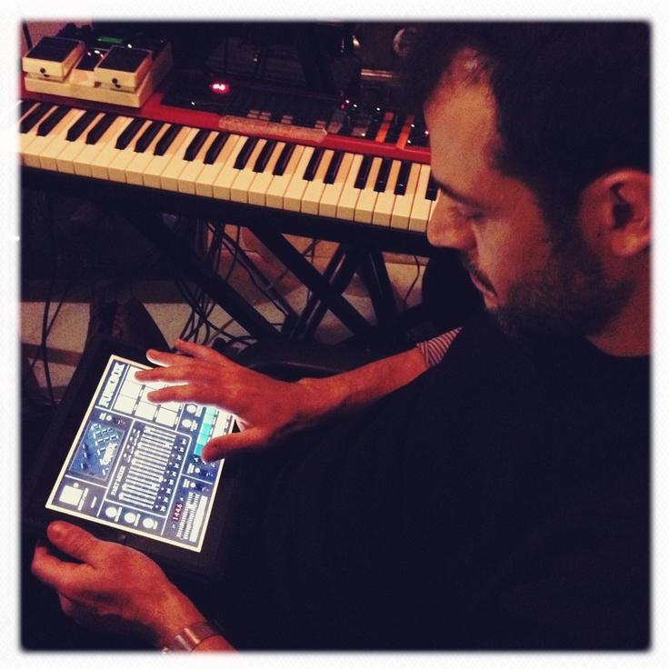 mario workin on a beat