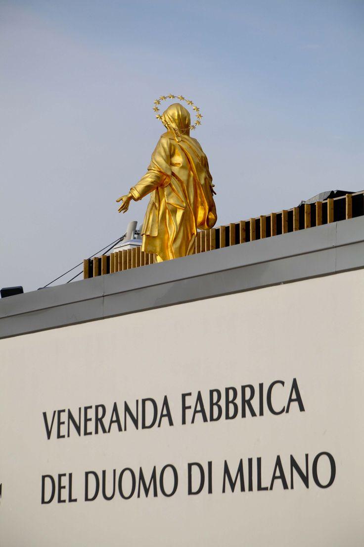 Veneranda Fabbrica del Duomo di Milano #Duomo #VenerandaFabbrica #Milan #Expo2015