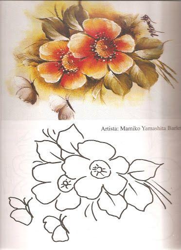Coleção Pintura Tecido Nº 07 - Marci - Álbuns da web do Picasa