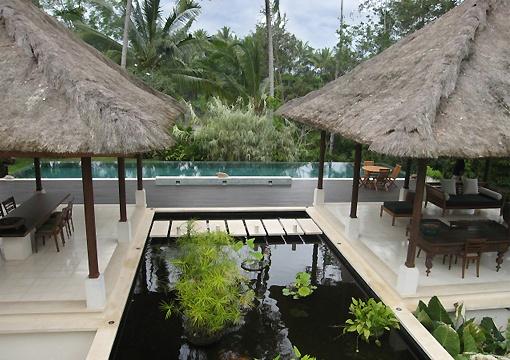 Villa Naga   2 bedroom villa overlooking the lush jungle