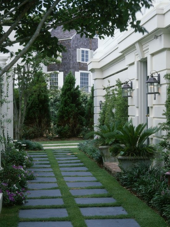 Garden Ideas Long Narrow 24 best courtyard ideas images on pinterest | landscaping