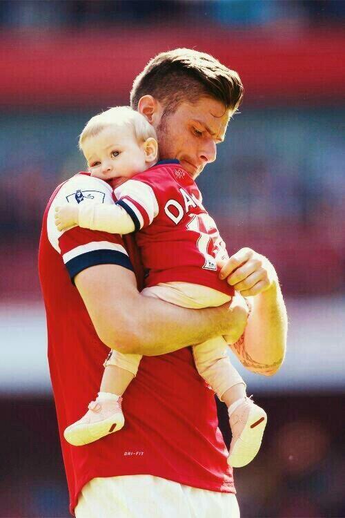 Giroud and daughter jade