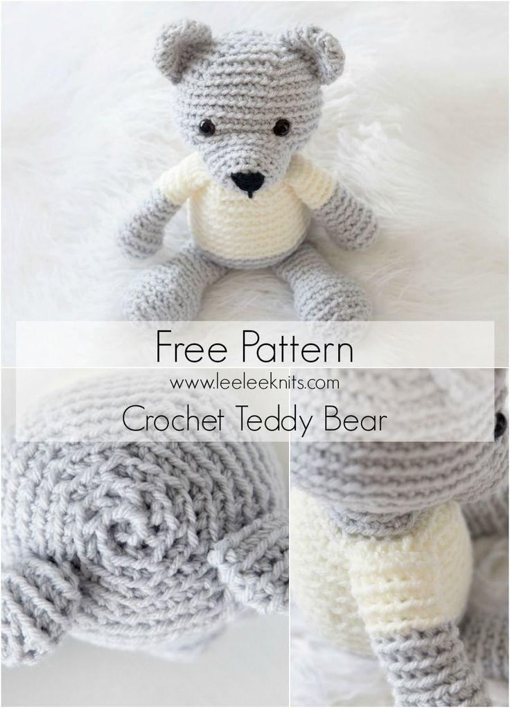 Free Knitting Patterns For Teddy Bears : Best 20+ Crochet Animals ideas on Pinterest Free crochet pattern animals, C...