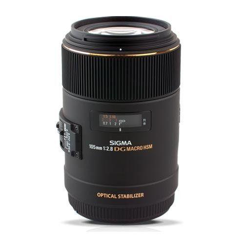 Sigma 105mm F2.8 EX DG OS HSM Macro Lens for Nikon DSLR Camera 258306 * undefined #Lenses