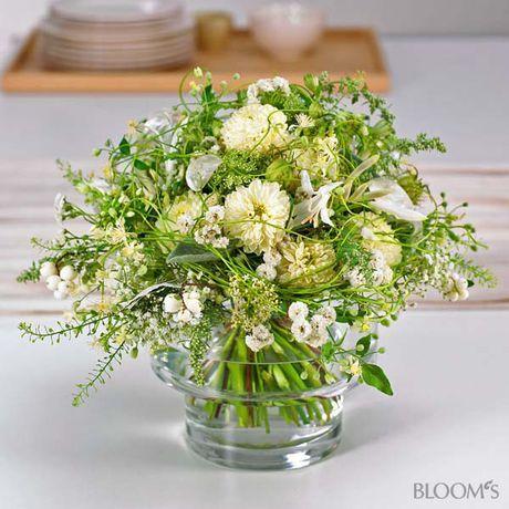 летние букеты в белом особенно тонкий и изящный