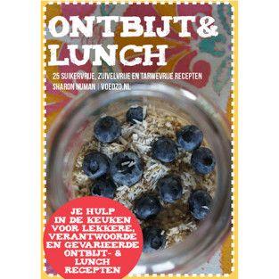 E-book 25 ontbijt & lunchrecepten   Voedzo Shop