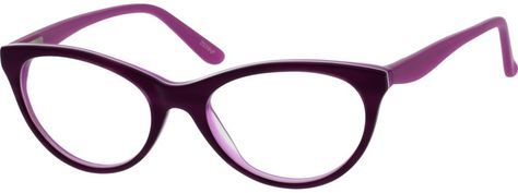 Women's Purple 1869 Acetate Full-Rim Frame with Spring Hinges | Zenni Optical Glasses-DJRJdVsO