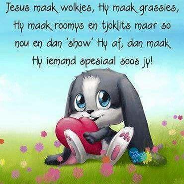 God maak spesiale mense
