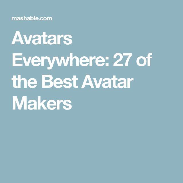 Avatars Everywhere: 27 of the Best Avatar Makers