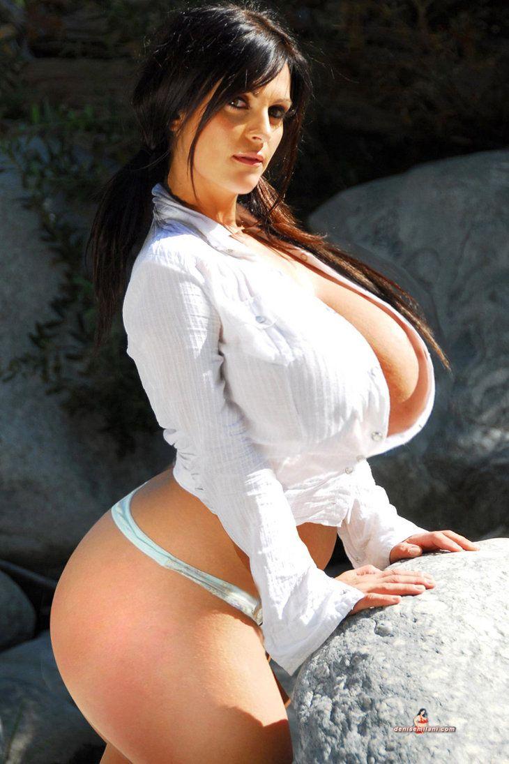 Giant boobs bimbo amy anderssen sucks black dick and balls 9