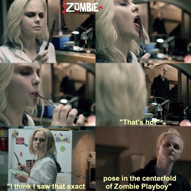 "#iZombie 1x03 ""The Exterminator"" - Liv and Blaine"