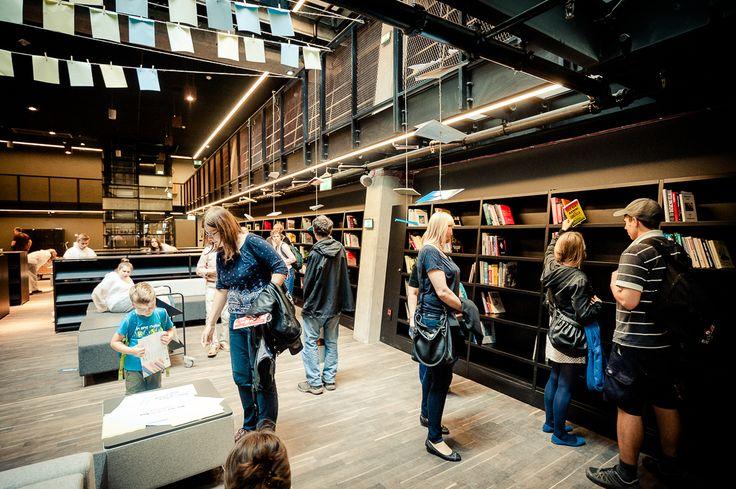 Europejskie Centrum Solidarności biblioteka - European Solidarity Center Library - Gdańsk, Polska, Gdansk, Poland.
