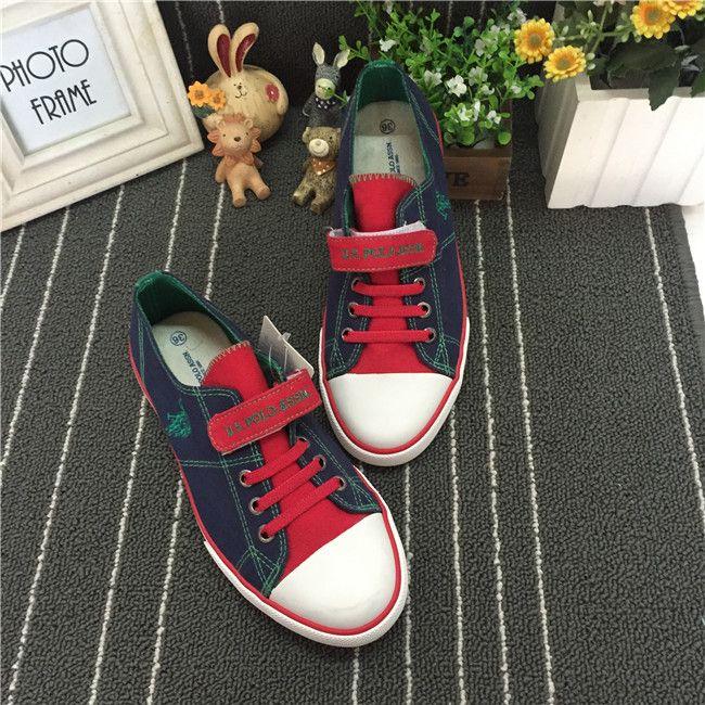 Слегка ребенок холст обувь США экспорт обуви бренда мальчик прогулочной обуви кроссовки 31-37 код P домой - Taobao