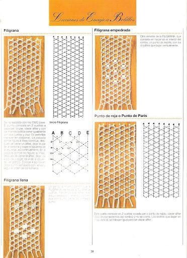 leçons de dentelle aux fuseaux (compilation de L.H espagnol) - Maggi Rivera - Picasa Albums Web