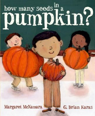 FICTION:Charlie, the smallest child in his first grade class, is amazed to discover that of the three pumpkins his teacher brings to school, the tiniest one has the most seeds.