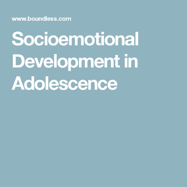 Adolescence: Socioemotional: This article is about the social and emotional during the adolescence stage. This period is known for the formation of personal and social identity. Adolescence is when you pull away from their parents, and their peer group becomes very important.