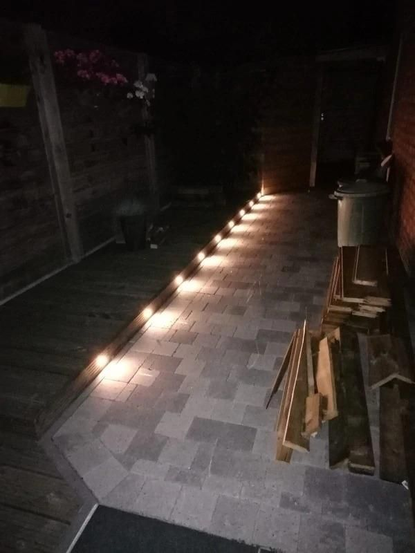 Tomshine Lighting Store Led Deck Lights 6w 500lm Smd2835 Eu Us Uk Plug For Outdoor Garden Pathway Decor Under Led Deck Lighting Led Garden Lights Deck Lights