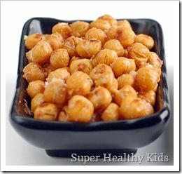 roasted chickpeas. Who would have thought, right? This whole website is wonderful for healthy food ideas for kids. Love it when people put together things like this.