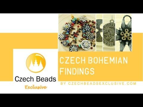 VIDEO: Czech Antique Silver | Gold Findings | CzechBeadsExclusive