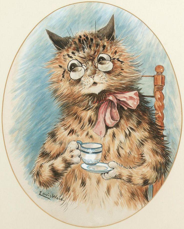 Люди как кошки , а кошки как люди! Oткрытки с рисунками Уэйна. Обсуждение на LiveInternet - Российский Сервис Онлайн-Дневников