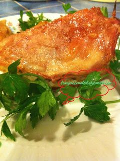 Fırında Pilavlı Tavuk Göğsü Dolması