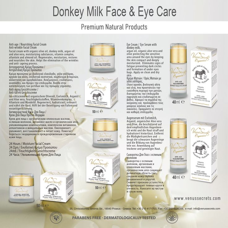 Donkey Milk Face & Eye Care