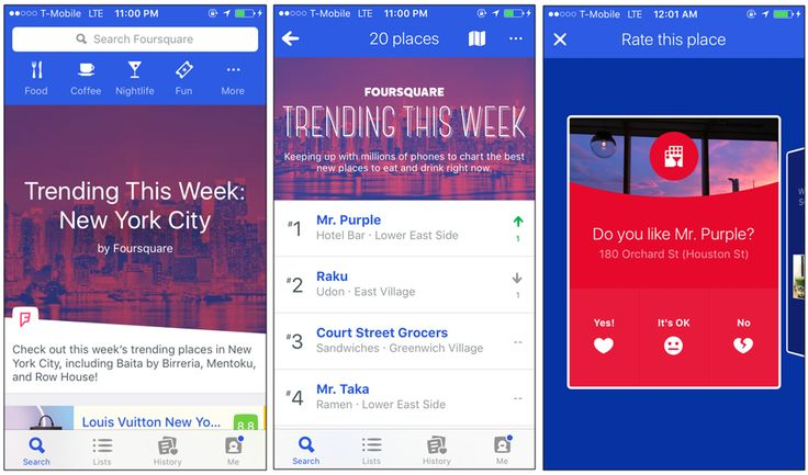 How to use Foursquare while traveling