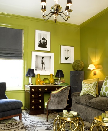 160 best chartreuse rooms images on Pinterest | Home ideas, Interior ...