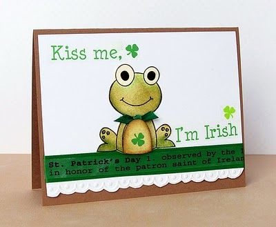 homemade st patrick s day cards cards pinterest
