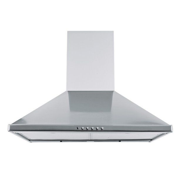 Buy New World 60cm Chimney Cooker Hood - Stainless Steel at Argos.co.uk - Your Online Shop for Cooker hoods and splashbacks, Cooking, Large kitchen appliances, Home and garden.