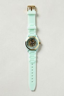 Exposed Gears Viscid Watch, Mint