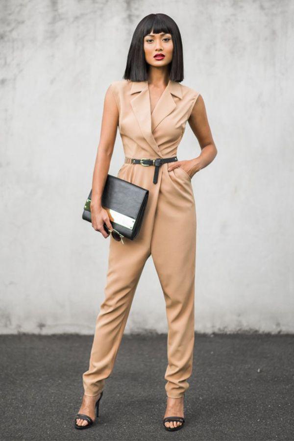Power Dressing   What to Wear   Fashion Blogger   Micah Gianneli   Cream Jumpsuit   Smart Casual   Workwear Fashion   Women   Visit Travelshopa