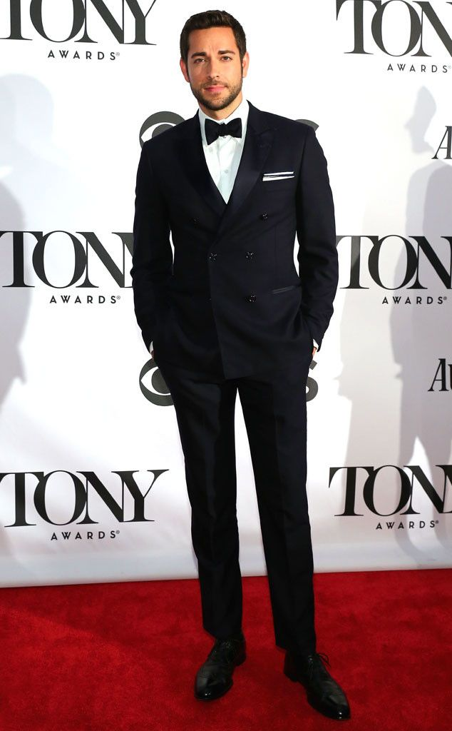 Zachary Levi + Suit + Bow tie = PERFECTION. <3