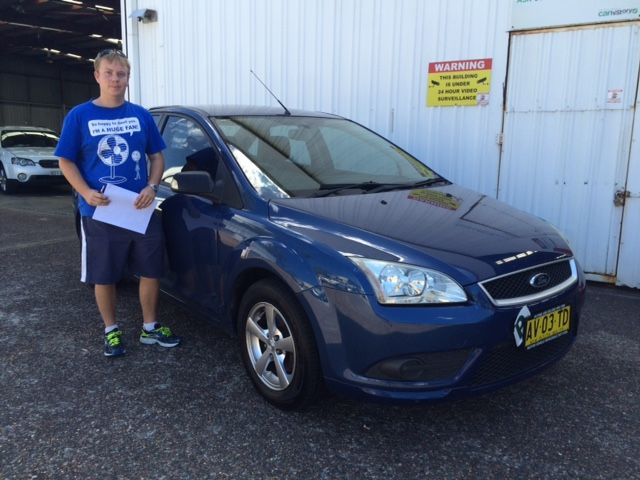 Another great client, Mitchell picked up his new Ford Focus today. Congratulations and thanks for visiting motor vehicle wholesale dot com.