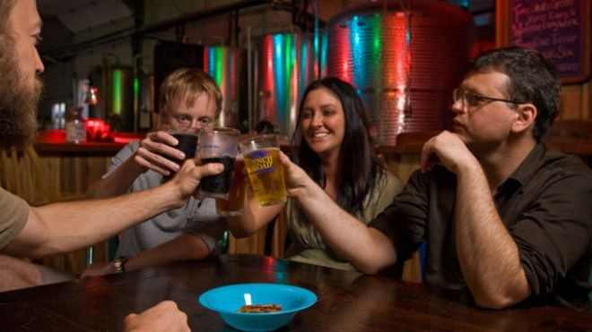 """Mike Rangel, owner of the Asheville Brewing Company. """"I think in this town we are kind of 'foodies.' We are embracing the farm-to-table movement, eating local and the organic movement which put us ahead in the craft beer movement."""""""