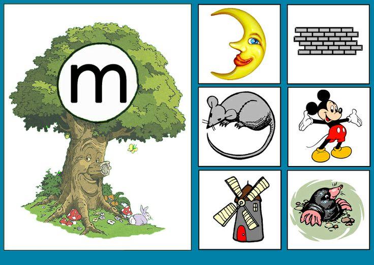 * Sprookjesboom: Letterkaart M