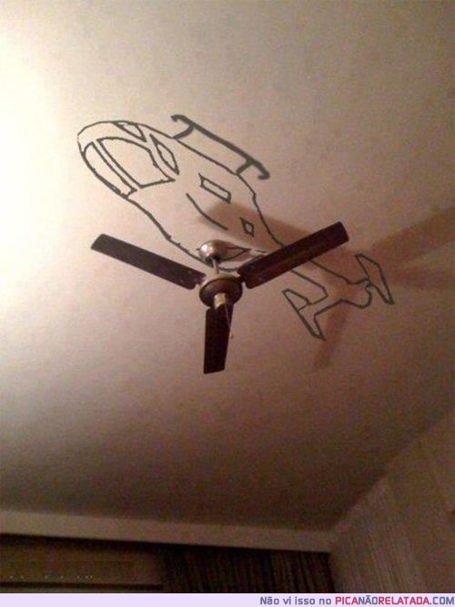 For a little boy who wants an airplane themed room.