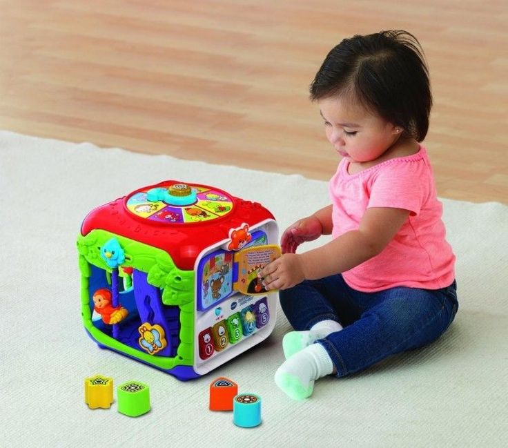Educational Toddler Toy 9-36 Months Sort Activity Cube Learning Play Multicolor #easy_shopping08