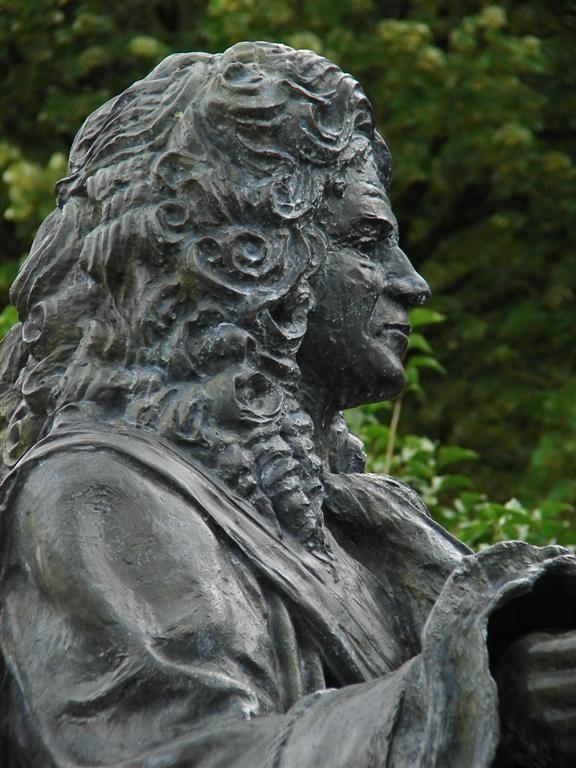 Statue du Maréchal Vauban. Besançon. Franche-Comté